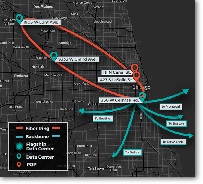 CHICAGO  DATA CENTERS